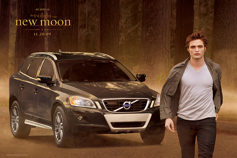 Volvo XC60 Product Placement in 'The Twilight Saga: New Moon'