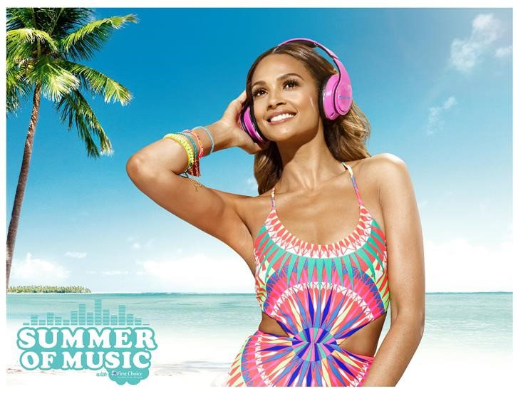 """Alesha Dixon """"Summer of Music"""" campaign product placement"""
