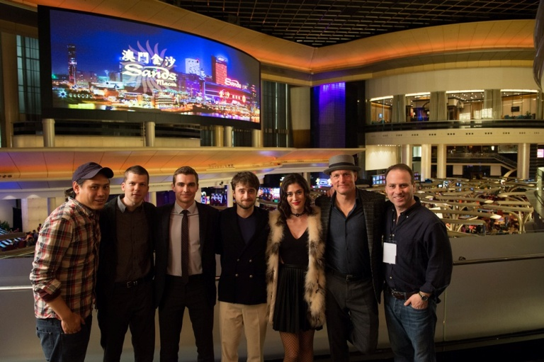 Now You See Me 2 cast at the Sands China Resort product placement